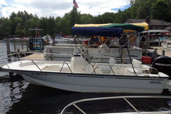 115 HP Boston Whaler Rental