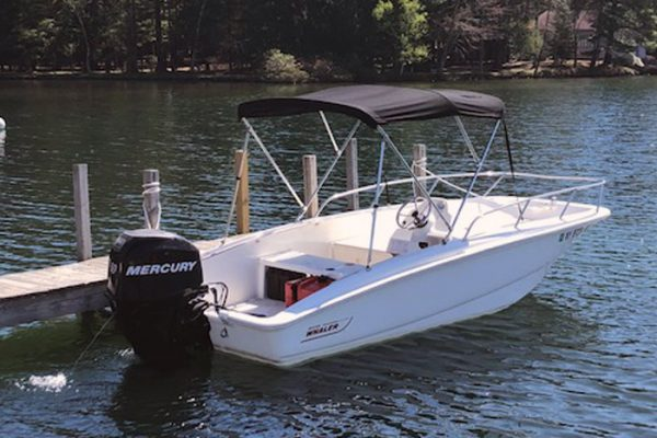 60hsp Boston Whaler Boat Rental