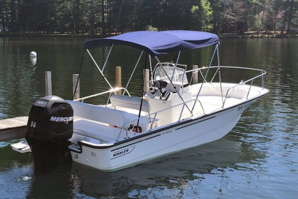 90 HP Boston Whaler Rental