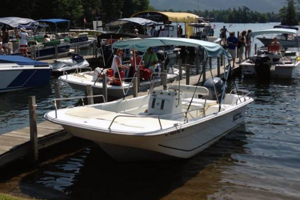 90 HP Carolina Skiff Boat Rental