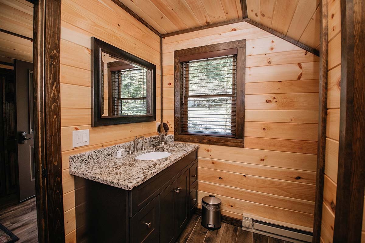 Large sink and vanity