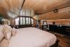 Rustic wood ceilings