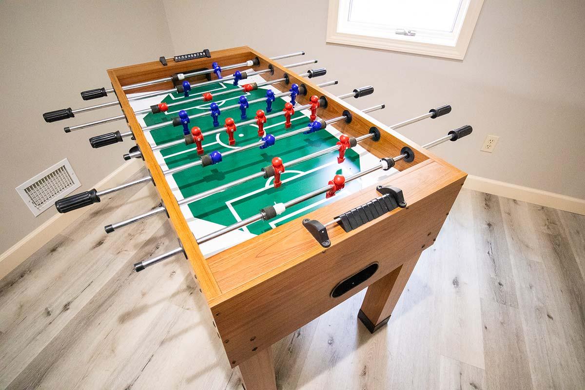 Sweetbriar Villa foosball table