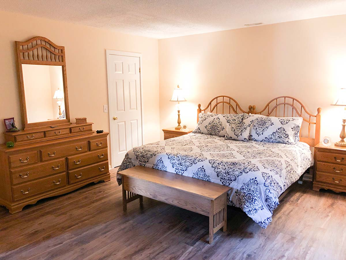 Second King bedroom on second floor
